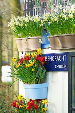 Lente in Amsterdam van Peet Romijn