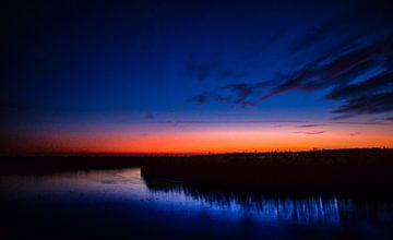 Sonnenuntergang in Wells von Alisa Visser