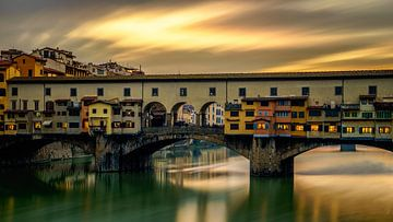 Ponte Vecchio - Florence - long exposure I sur Teun Ruijters