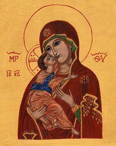 Moeder Gods van Vladimir van