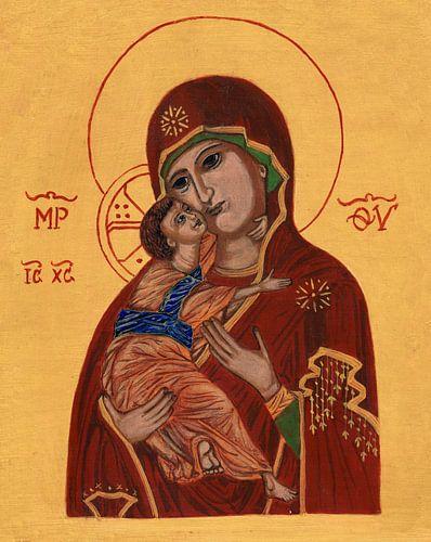 Moeder Gods van Vladimir von Sasha Butter-van Grootveld