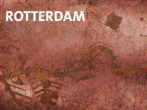 Wasserkarte Rotterdam