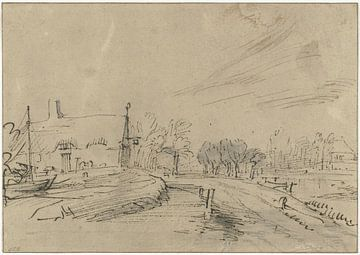 Auberge sur l'Amstelveenseweg, Rembrandt van Rijn
