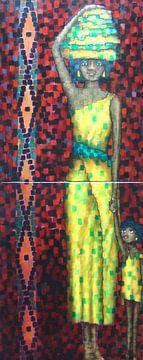 African mother sur Janny Heinsman