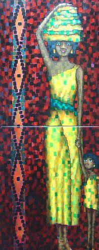 African mother van