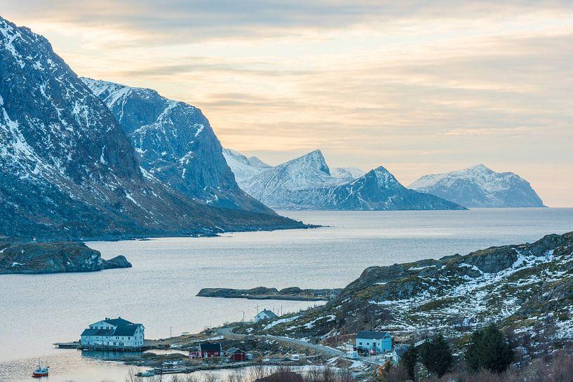 Ongelofelijke landschappen van de Lofoten von Rob IJsselstein