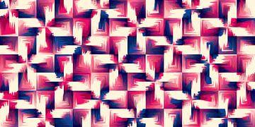 Abstrakte-Muster-01 van Marion Tenbergen