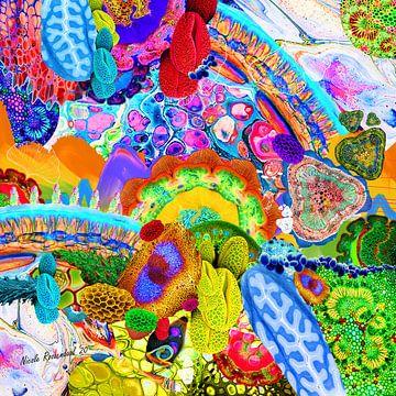 vrolijke kleuren van Nicole Roozendaal
