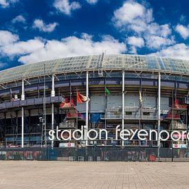 Stadion Feyenoord in color von Pieter van Roijen