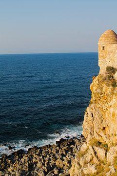 Kreta - Rotswand kust van Selina de Bue
