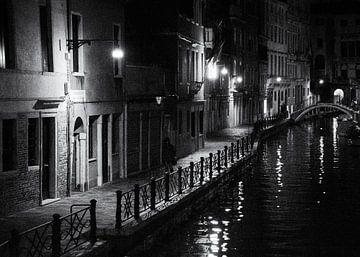 Straatfotografie Italië - Nacht in Venetië