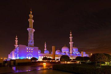Sheikh Zayed moskee van