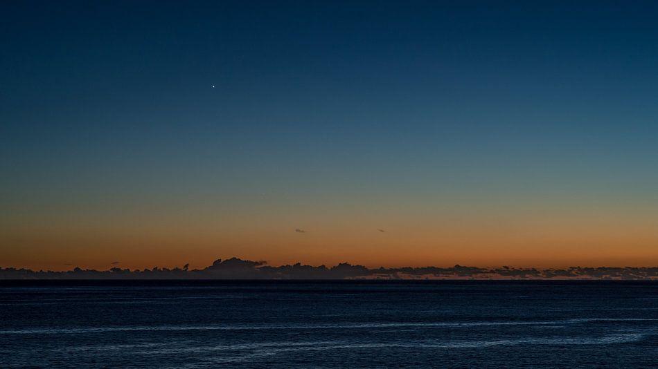 Net na zonsondergang op Madeira