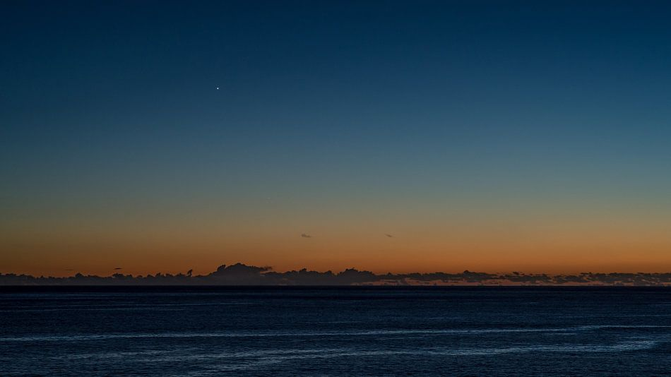 Net na zonsondergang op Madeira van Hans Kool