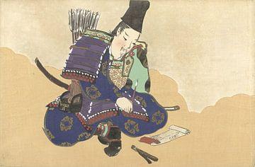 Tadanori von Kamisaka Sekka, 1909