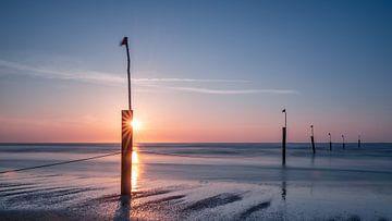 Norderney - Zonsondergang van Steffen Peters