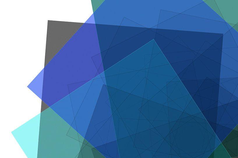 Graphic Fractal 4 van Gerrit Zomerman