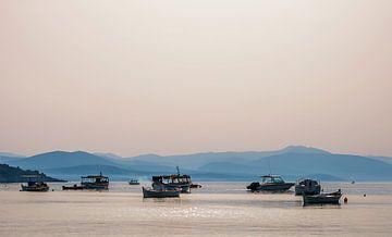 Griekse zee van Anja Spelmans