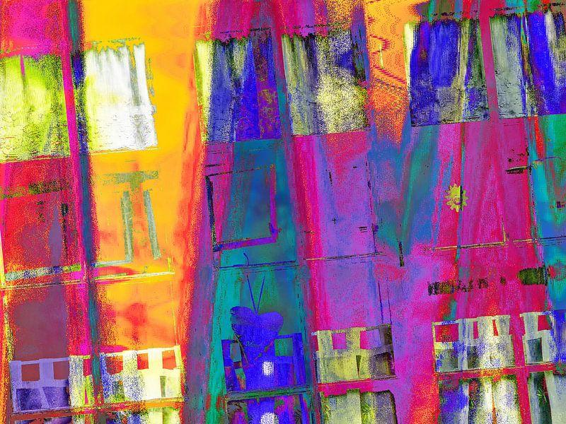 Crazy an colorful windows van Gabi Hampe