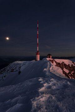 Sendeturm Dobratsch in Kärnten von Thomas Weber