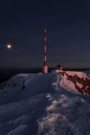 Sendeturm Dobratsch in Kärnten
