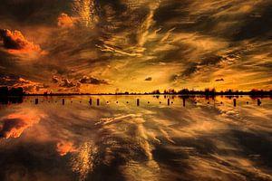 Sunset, Vianen,  The Netherlands