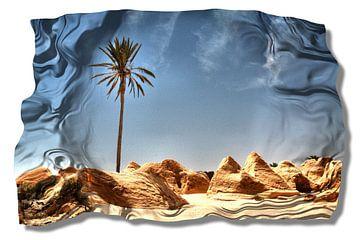 Desert wrinkle van Yvonne Smits