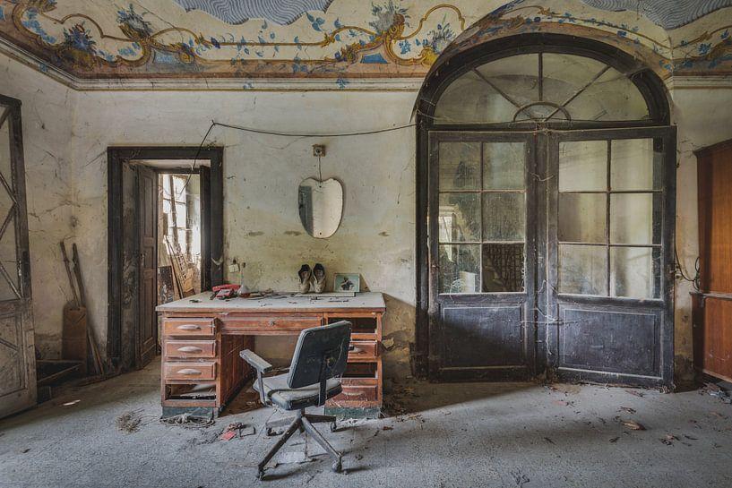 Büro in der Farm von Perry Wiertz