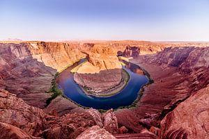 De Horseshoe Bend in de Colorado Rivier van