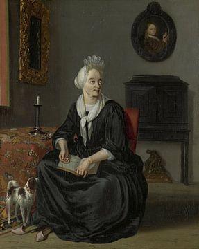 Anna de Hooghe, Ludolf Bakhuysen