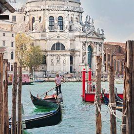 Basilique de Santa Maria della Salute, Venise sur Anouschka Hendriks
