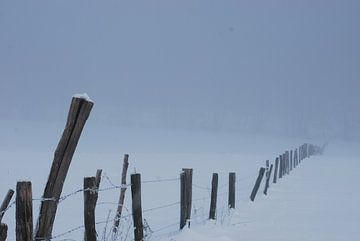 Mysterieus Winterlandschap von Victor Belou