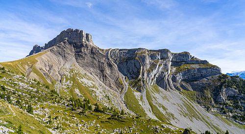 Bijzondere rotsen bij Schynige Platte, Zwitserland