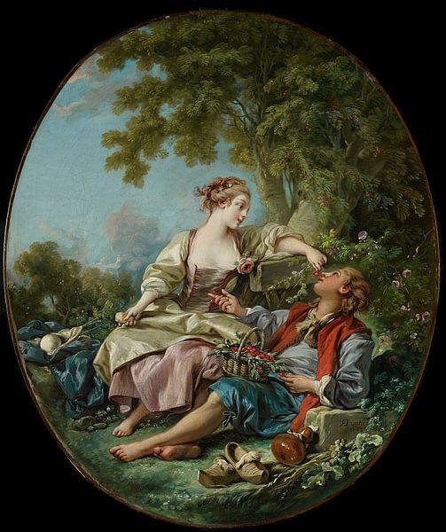 François Boucher - De Klompen van 1000 Schilderijen