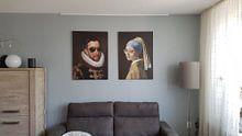Klantfoto: Willem I met zonnebril, prins van Oranje - Fela de Wit, op canvas