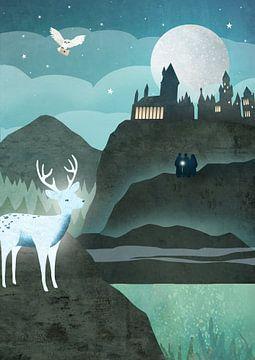 Harry Potter Poster von Studio Voorpret