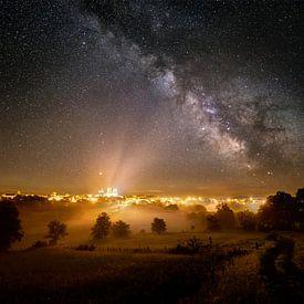 Melkweg boven La Chaise Dieu von Nando Harmsen