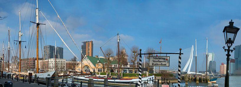 Fährhafen Rotterdam von Fred Leeflang