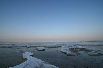 Bevroren strandwater von Johan Töpke