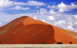 Dune of Sossusvlei, Namibia van
