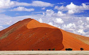 Düne im Sossusvlei, Namibia von W. Woyke
