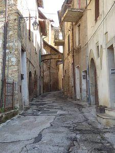 Pittoresk straatje van Hanneke Bantje