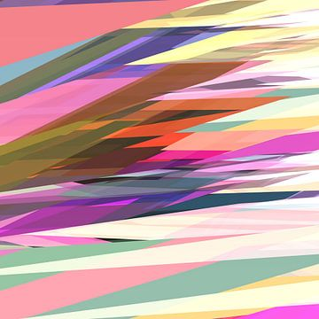 Abstracte samenstelling 728 van Angel Estevez