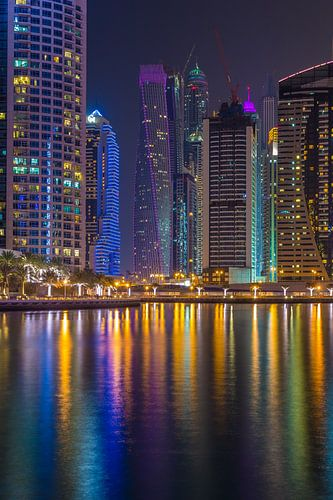 Dubai by Night - Dubai Marina - 2