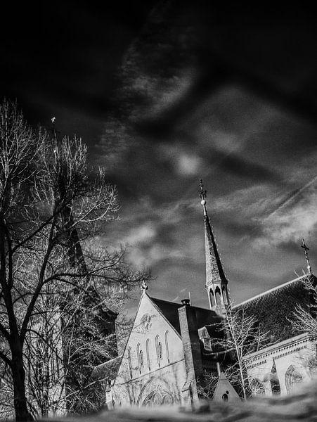 Sint Lambertus kerk Beers #7 van Lex Schulte