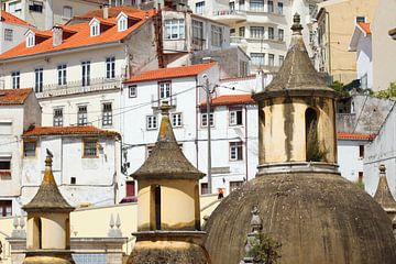Jardim da Manga, Roof, Old Town, Coimbra, Beira Litoral, Portugal, Europe I Jardim da Manga, Esplana von Torsten Krüger