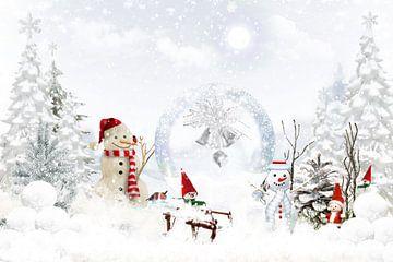 Wintermärchen van Dagmar Marina