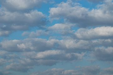 Wattige wolken van P Leydekkers - van Impelen