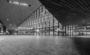 Het Centraal Station in Rotterdam