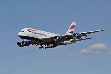 Airbus A380, British Airways von Gert Hilbink